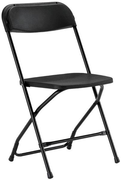 Where to find CHAIRS, FOLDING BLACK in Butte
