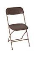Where to rent CHAIRS, FOLDING BROWN in Butte MT